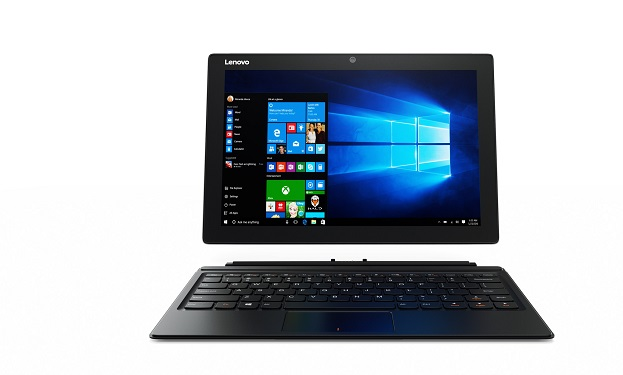 "LENOVO IdeaPad Miix 510 12.2"" IPS Tablet PC Win 10 Home fekete (80U100F4HV)"