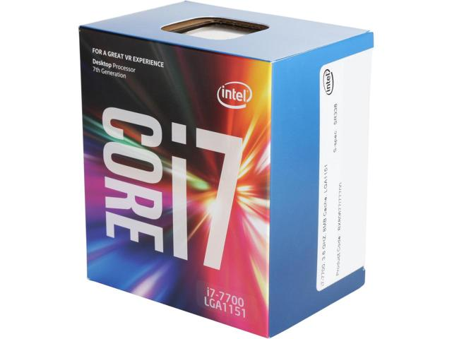 Intel Core i7 7700 QuadCore 3,6GHz 8MB LG1151 Kaby Lake BOX 65W