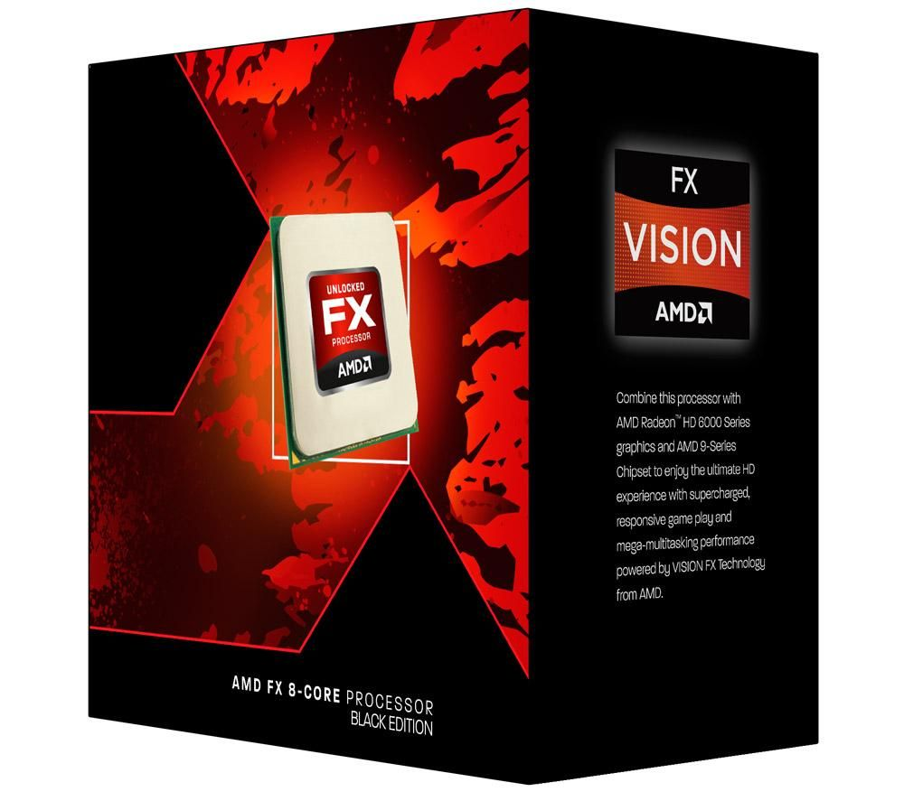 AMD FX-8320 X8 Vishera AM3+ 3,5Ghz BOX
