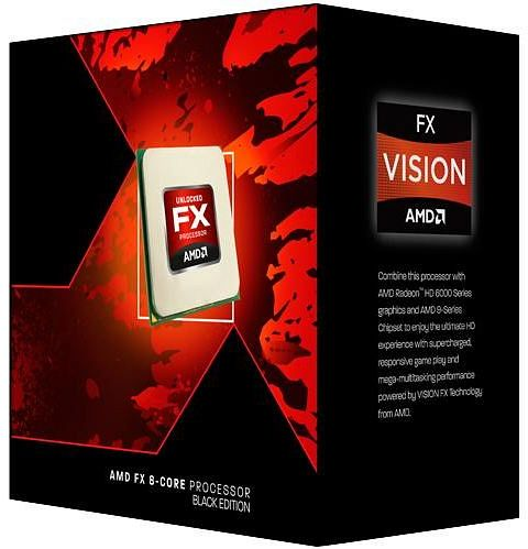AMD FX-6300 X6 Bulldozer AM3+ 3,5Ghz Black Edition BOX