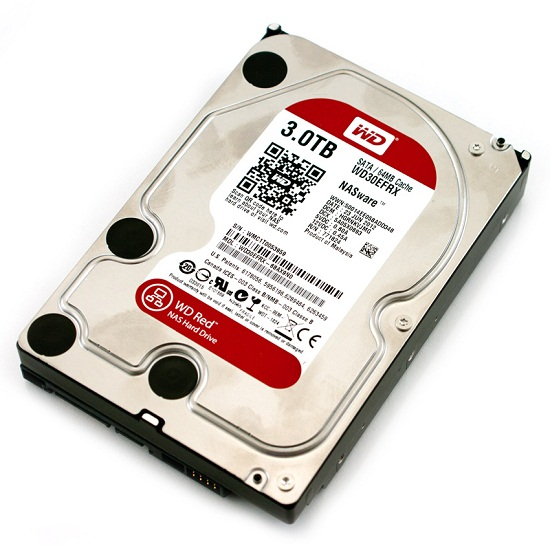 3Tb Western Digital SATA 64Mb WD30EFRX Caviar Red